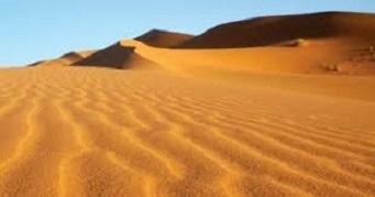 إنشاء الصين طريق في صحراء تكلامكان