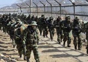 إطلاق النار بين كوريا الشمالية والجنوبية