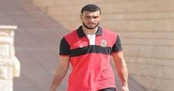 استعداد أحمد ربيع الشيخ للتدربيات لكي يعود إلي الدوري