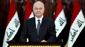 برهم صالح يبارك مصطفى الكاظمي على نيل الثقة ويطلب منه سرعة تشكيل باقي الحكومة